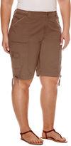 ST. JOHN'S BAY St. John's Bay Knit Bermuda Shorts-Plus