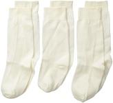 Jefferies Socks High Class Nylon Knee High Socks 3-Pair Pack (Infant/Toddler/Little Kid)