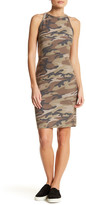 Blvd Camo Knit Cutaway Dress