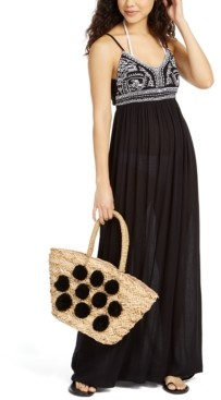 Raviya Sleeveless Embroidered Cover-Up Maxi Dress Women's Swimsuit