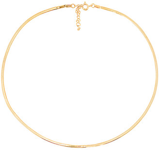 Tai Thin Herringbone Chain Necklace