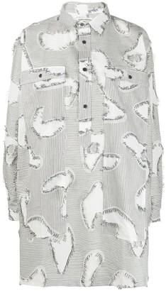 Henrik Vibskov stripe print Chop blouse