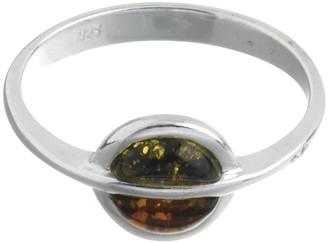 Nature D'ambre Nature d 'Ambre 3111154Women's Ring Silver 925/1000Amber