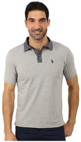U.S. Polo Assn. Solid Slim Fit Stretch Pique Polo