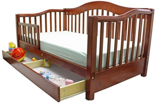 Dream On Me Toddler Day Bed - Cherry