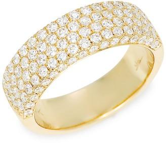 Saks Fifth Avenue 14K Yellow Gold Diamond Band Ring