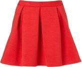 Petite Ribbed Scuba Skirt