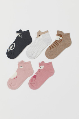 H&M 5-Pack Trainer Socks