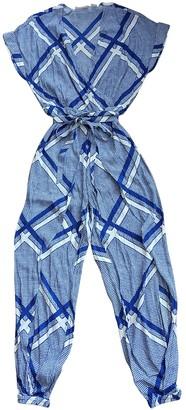Sass & Bide Blue Viscose Jumpsuits