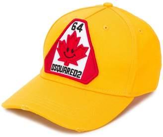 DSQUARED2 stitched logo cap