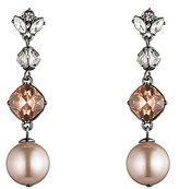 Carolee Queen of Gems Faux-Pearl Linear Drop Earrings