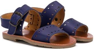 Pépé Double Strap Sandals