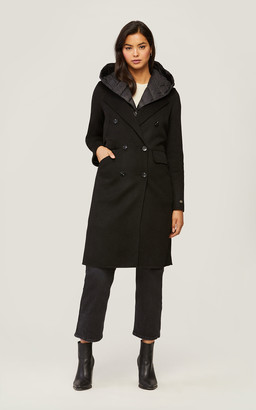 Soia & Kyo VIOLA 3-in-1 double-face wool coat with Thermolite layer