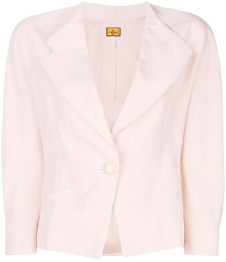 Fendi Pre-Owned Cropped Blazer