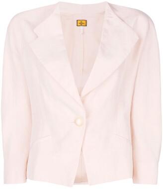Fendi Pre-Owned cropped blazer