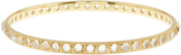Irene Neuwirth Rainbow moonstone & yellow-gold bangle