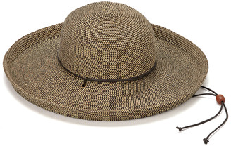 Jeanne Simmons Accessories Women's Sunhats BLACK - Black Tweed Kettle Brim UPF 50+ Sunhat