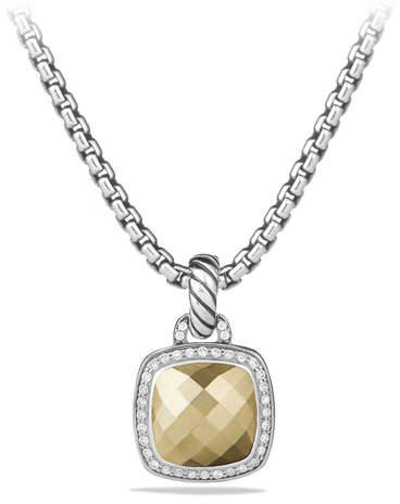 David Yurman Albion Pendant with Diamonds and 18k Gold