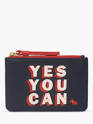 Radley Motivational Leather Zip Top Coin Purse