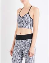 Koral Ghost stretch-jersey sports bra