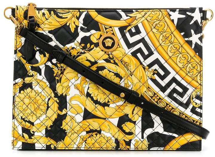 a703706681 Baroque print shoulder bag