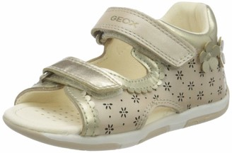 Geox Girl's Tapuz First Steps Sandal Shoe