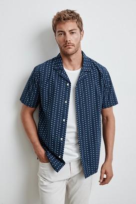 Velvet by Graham & Spencer Cisco Printed Button-Up Shirt