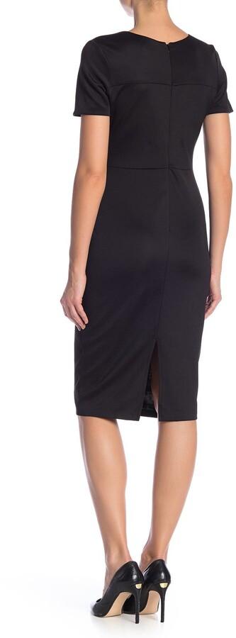 Thumbnail for your product : Alexia Admor Scuba Midi Sheath Dress