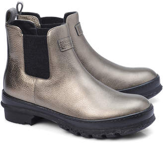 Brunello Cucinelli Metallic Leather Boot