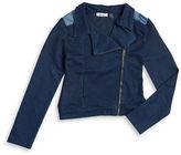 Dex Asymmetric Denim Jacket