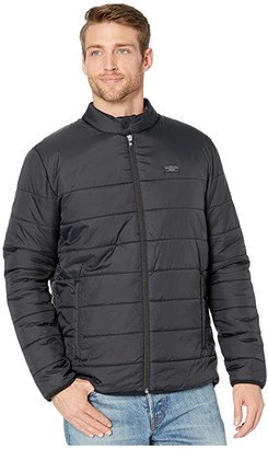 Travis Mathew Cold Front Jacket (Black) Men's Clothing