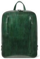 Magnanni Men's Leather Sport Backpack - Green