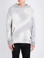 Amiri Shotgun cotton-jersey hoody