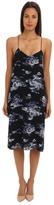 Tibi Floreale Print Slip Dress