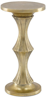 Currey & Company Jesper Drinks Table - Antique Gold