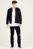 True Religion Rocco Skinny Mens Black Jean