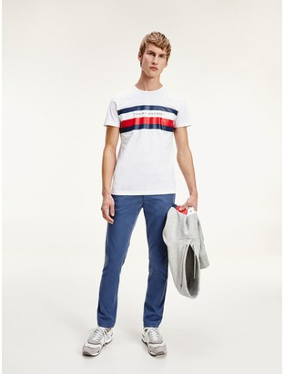 Tommy Hilfiger Organic Cotton Bar Stripe T-Shirt