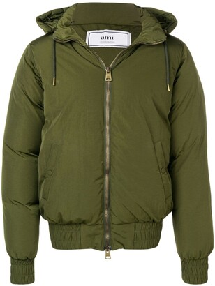 Ami Hooded Down Jacket