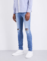 Neuw Rebel distressed slim-fit skinny jeans