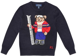 Polo Ralph Lauren Intarsia cotton and wool sweater