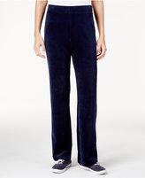 Karen Scott Velour Pull-On Pants, Only at Macy's