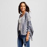 Knox Rose Women's Short Printed Cardigan (3/4 Length Sleeve)