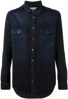 MSGM denim shirt - men - Cotton - 39