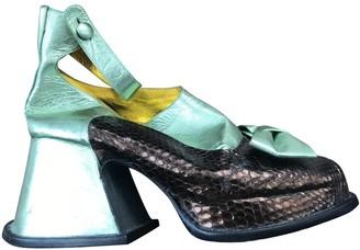 Meadham Kirchhoff Black Patent leather Heels