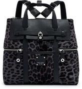 Henri Bendel Jetsetter Convertible Leopard Haircalf Backpack
