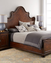 Horchow Lynette Queen Panel Bed