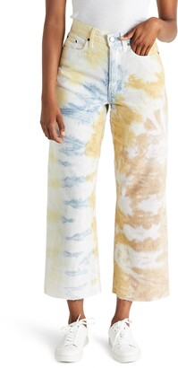 ÉTICA Devon High Waist Crop Wide Leg Jeans