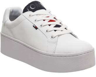 Tommy Hilfiger Icon Padded Trainers White