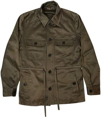 Louis Vuitton Khaki Synthetic Jackets