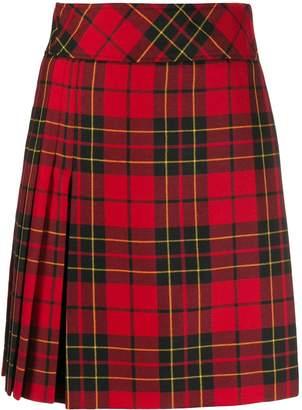 Pringle tartan short skirt